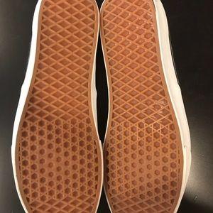 bf145f591b Vans Shoes - Vans Black Vegan Leather and Charcoal Wool